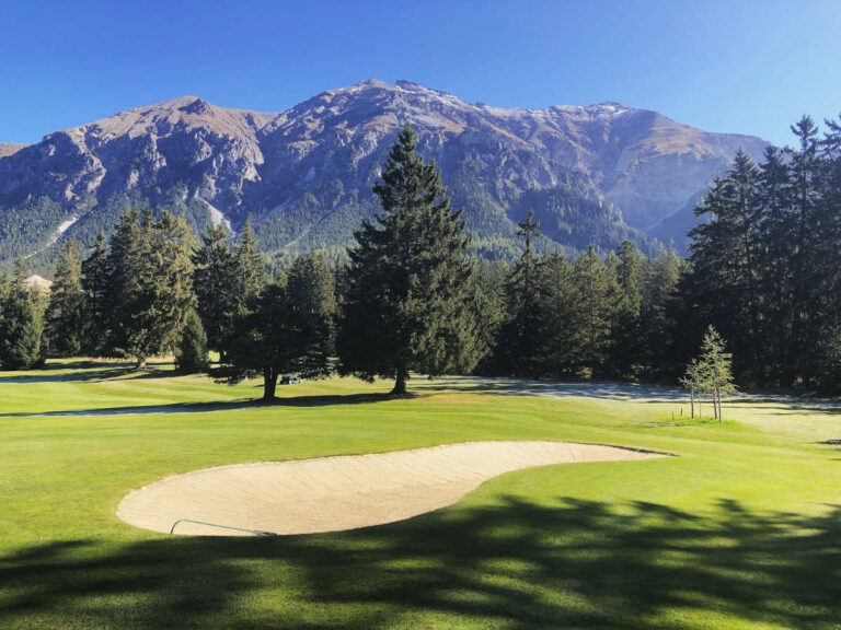 Golfplatz Herbst